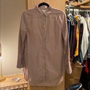J Crew button down blouse NWT